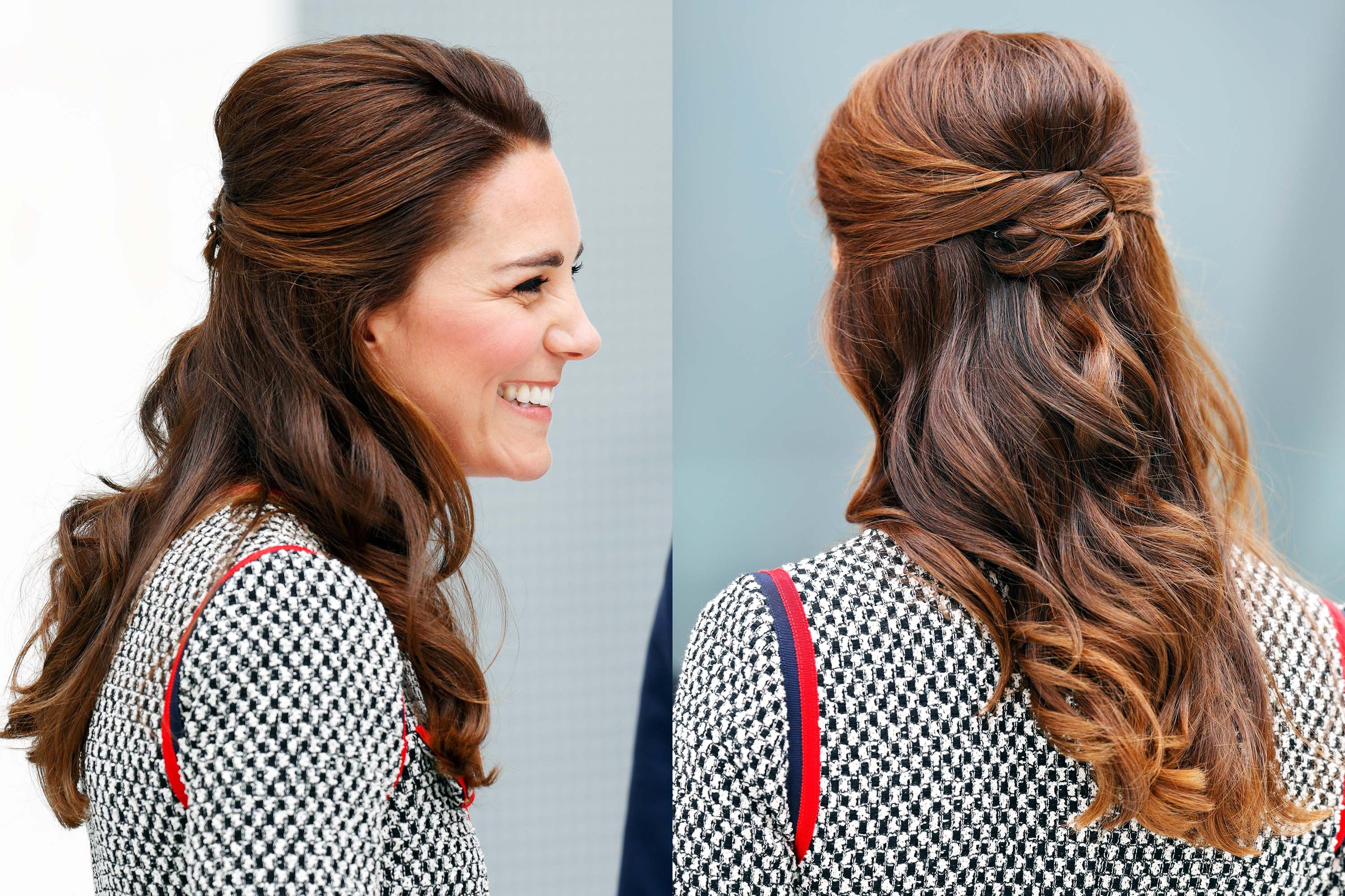 kate middleton s 37 best hair looks our favorite princess kate hairstyles our favorite princess kate hairstyles