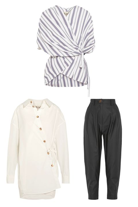 White, Clothing, Sleeve, Outerwear, Trousers, sweatpant, Sportswear, Suit, Active pants, Formal wear,