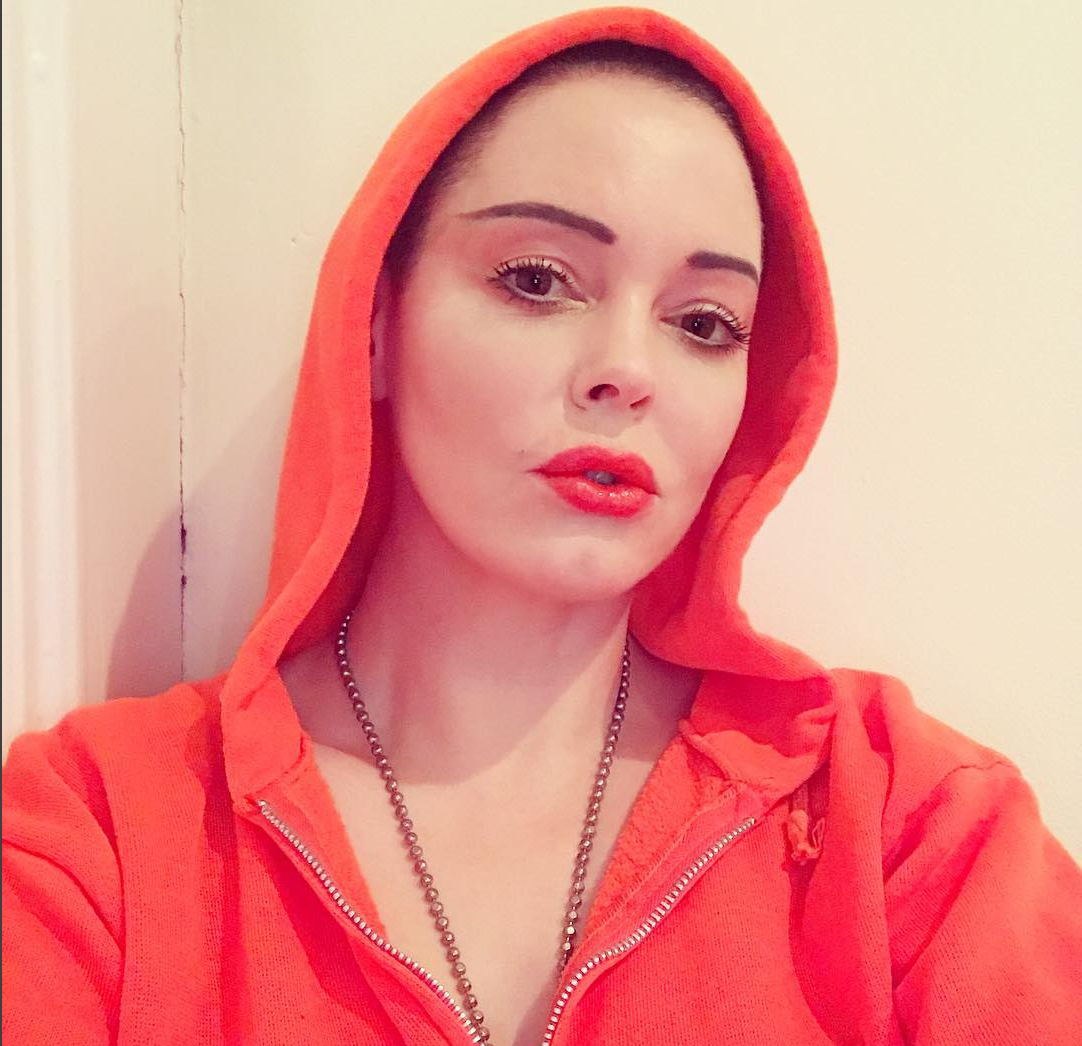A Gentle Reminder From Rose McGowan to BYO Condoms