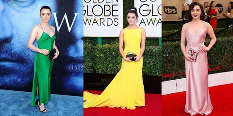 Dress, Gown, Clothing, Red carpet, Carpet, Fashion model, Shoulder, Yellow, Fashion, Flooring,