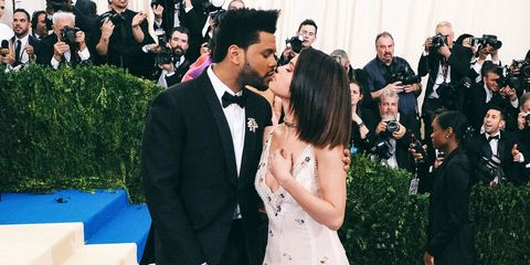 Selena Gomez supports The Weeknd on Instgram
