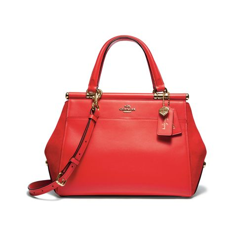 Handbag, Bag, Red, Shoulder bag, Fashion accessory, Product, Leather, Beauty, Fashion, Material property,