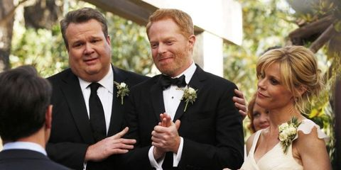 Mitch and Cam in Modern Family