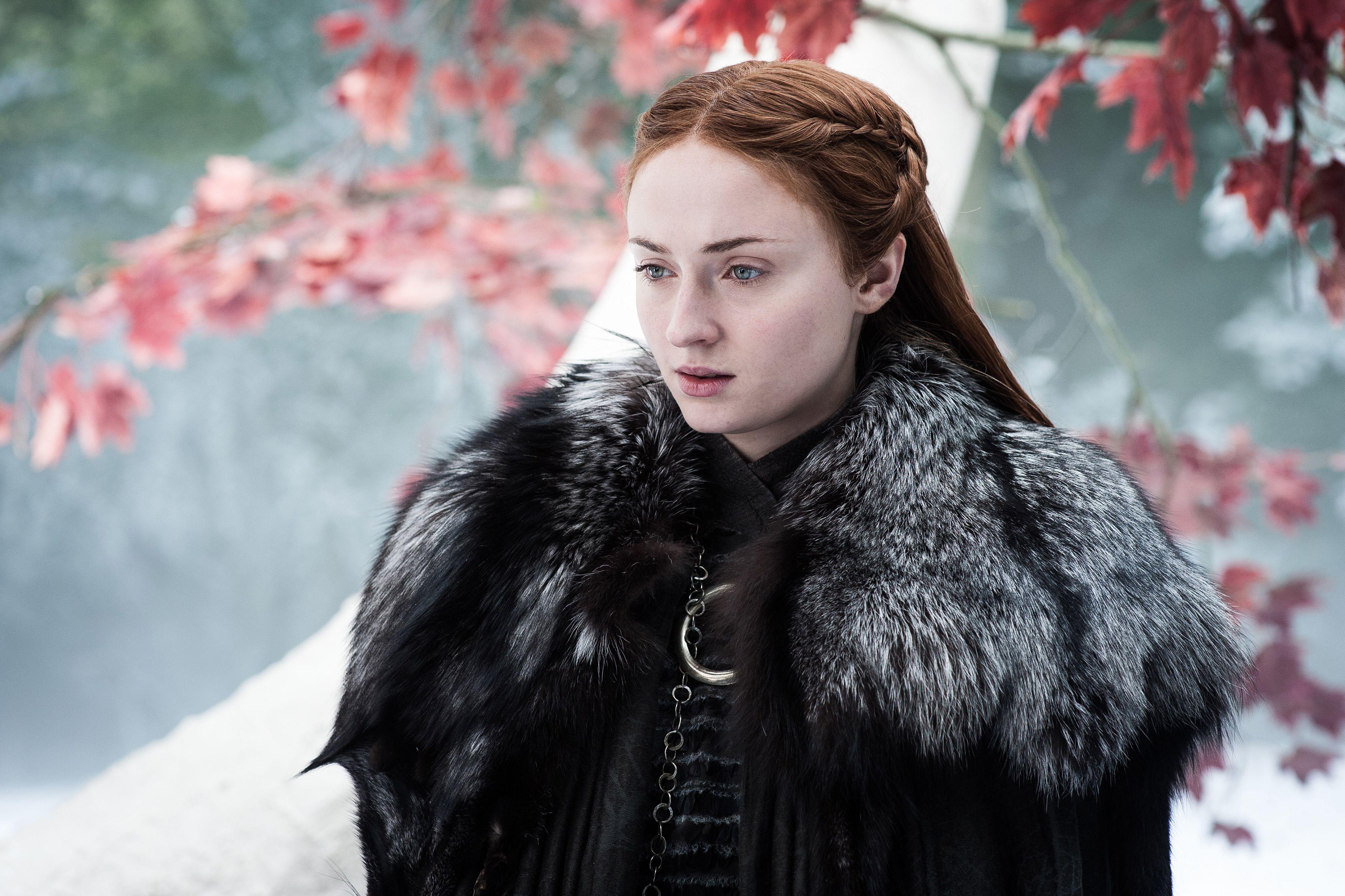 Sansa Stark on Game of Thrones Season 7