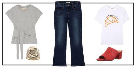 Denim, Jeans, Clothing, White, Footwear, Fashion, Textile, Trousers, Pocket, Shoe,
