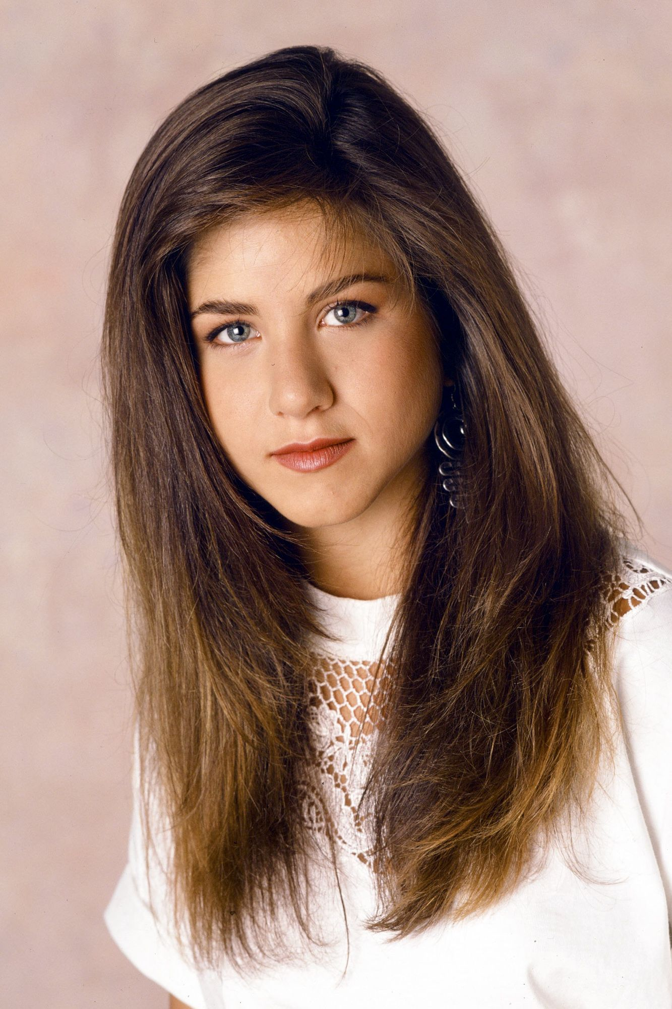 <p>Aniston as Jeannie Bueller, never forget.</p>