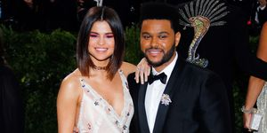 The Weeknd and Selena's Comedy club date