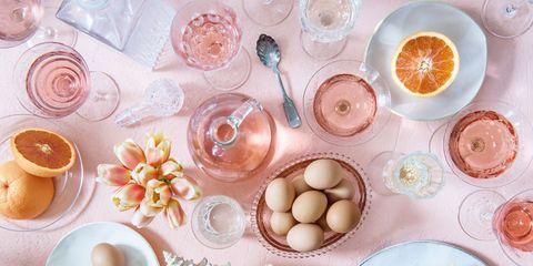 Food, Pink, Cuisine, Peach, Dish, Ingredient, Plate, Breakfast, Brunch, Tableware,