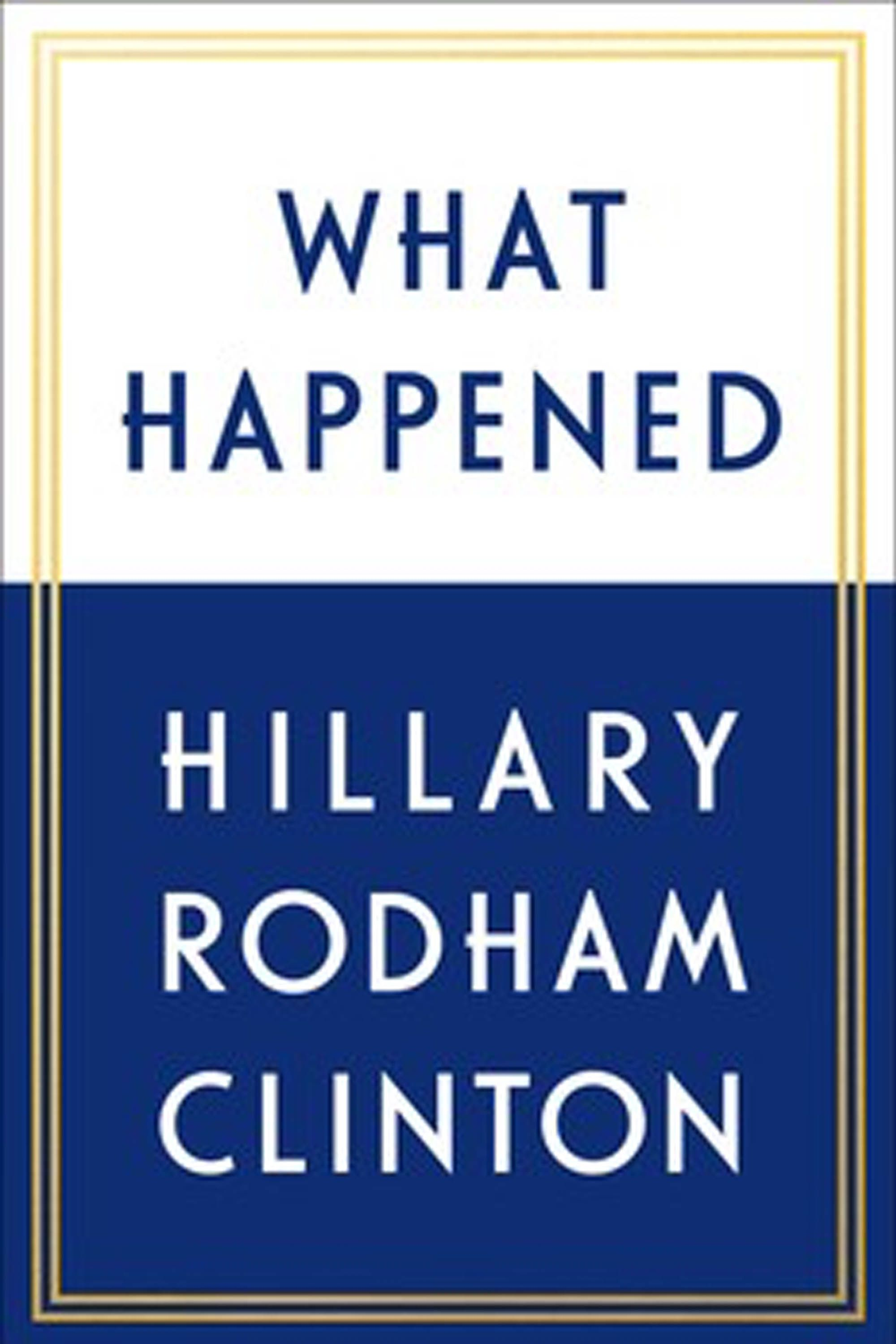 """<p>Theduality of presidential hopeful Hillary Clinton's book titleseems to weightwice as heavily as business, political, andreligious leaders publicly reconsider their support of Trump and white supremacists double down on theirs. We do know some of what transpired duringClinton'sunsuccessful political bid, butthose still wondering what<em data-verified=""""redactor"""" data-redactor-tag=""""em"""">did</em><span class=""""redactor-invisible-space"""" data-verified=""""redactor"""" data-redactor-tag=""""span"""" data-redactor-class=""""redactor-invisible-space"""">happen behind the scenes will want to read her account of those fateful months. (<a href=""""https://www.amazon.com/What-Happened-Hillary-Rodham-Clinton-ebook/dp/B01MYE7QP0"""" data-tracking-id=""""recirc-text-link"""">September 12, Simon & Schuster</a>)</span></p>"""