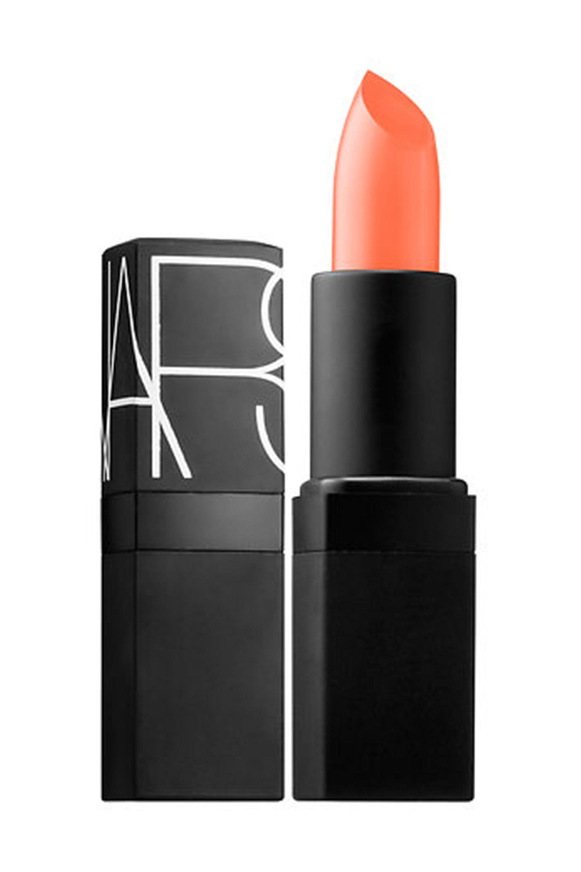"<p>""This is an old, classic sheer peach tone and great on multiple skin tones with a soft smokey eye,"" said celebrity makeup artist Katie Hughes.&nbsp&#x3B;</p><p><em data-redactor-tag=""em"" data-verified=""redactor""></em>NARS Lipstick, $28, <a href=""http://www.sephora.com/lipstick-P2865"" data-tracking-id=""recirc-text-link""><em data-redactor-tag=""em"" data-verified=""redactor"">sephora.com</em></a></p>"