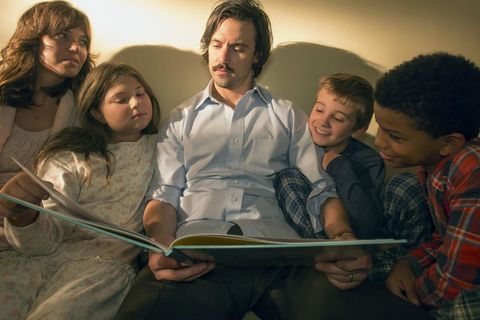 The Pearson family in This Is Us