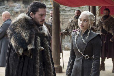 Game of Thrones Finale Jon Snow Daenerys Targaryen