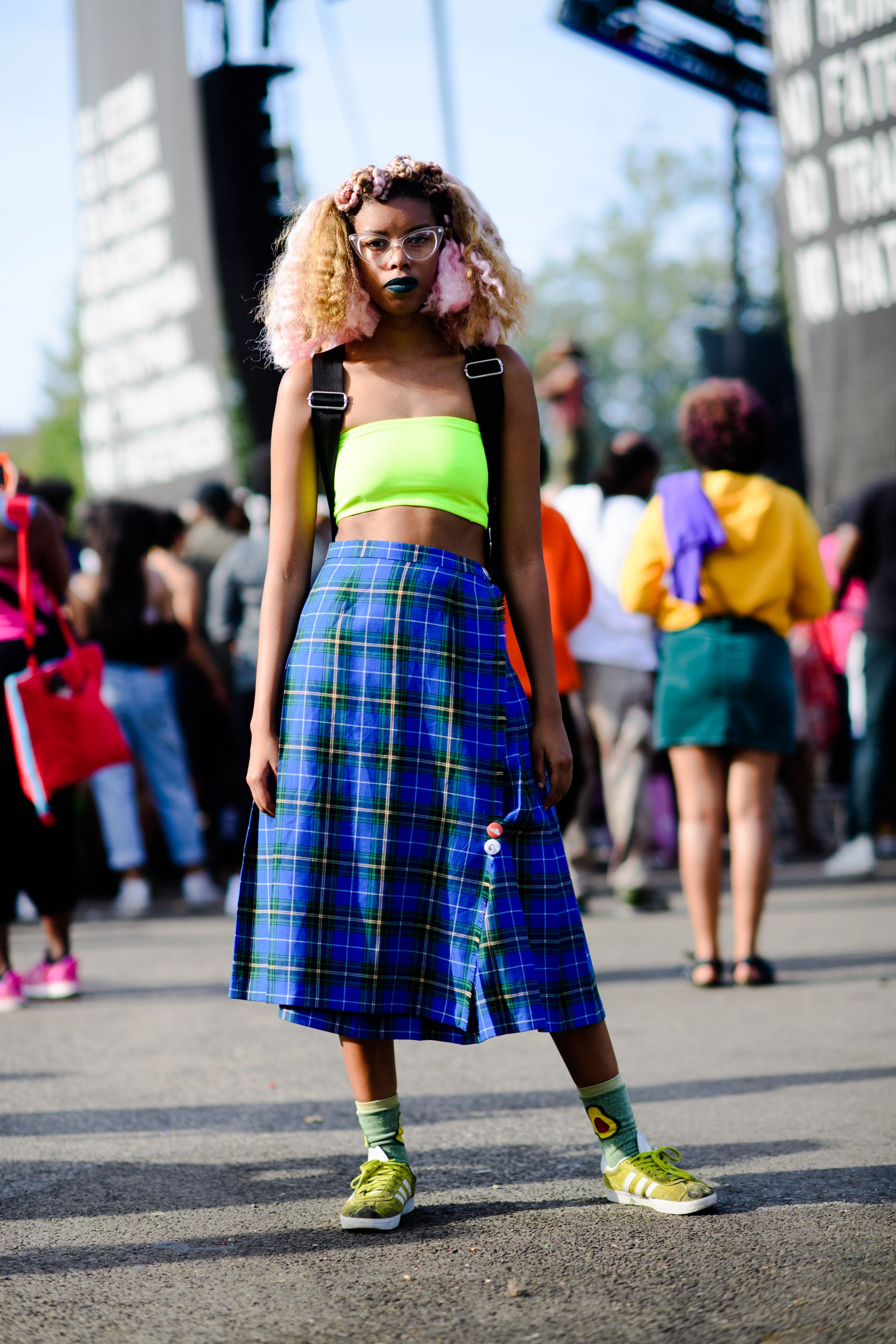 All The Best Street Style From Afropunk 2017