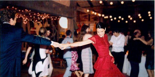 39d96bfb126b Personal Essay on Wearing a Red Wedding Dress - Bridal Fashion
