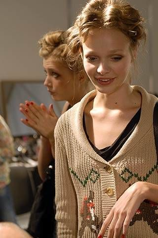 Blugirl Spring 2007 Ready-to-wear Backstage 0003