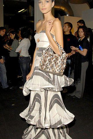 Giorgio Armani Spring 2007 Ready-to-wear Backstage 0002