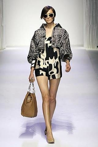 Pollini by Rifat Ozbek Spring 2007 Ready&#45&#x3B;to&#45&#x3B;wear Collections 0002