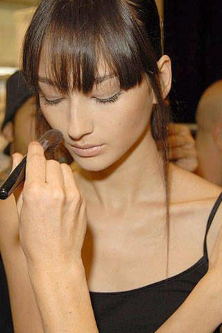 Pollini by Rifat Ozbek Spring 2007 Ready-to-wear Backstage 0003