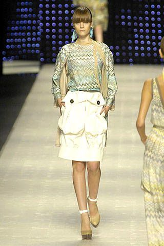Missoni Spring 2007 Ready&#45&#x3B;to&#45&#x3B;wear Collections 0002