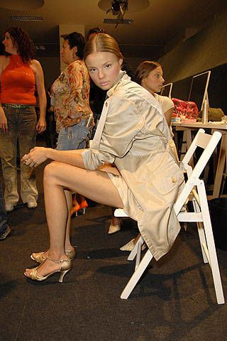 Valentin Yudashkin Spring 2007 Ready-to-wear Backstage 0003