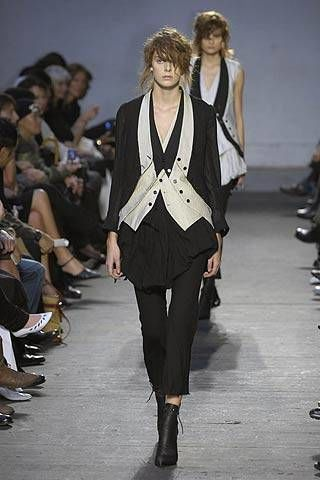 Ann Demeulemeester Spring 2007 Ready-to-wear Collections 0002