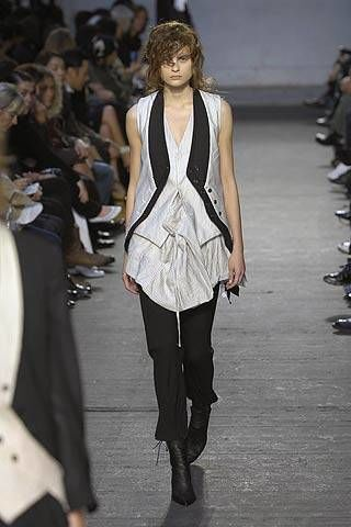 Ann Demeulemeester Spring 2007 Ready-to-wear Collections 0003