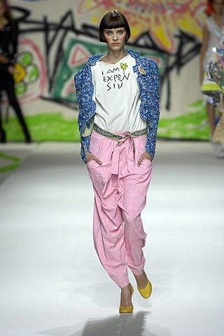 Vivienne Westwood Spring 2007 Ready-to-wear Collections 0002