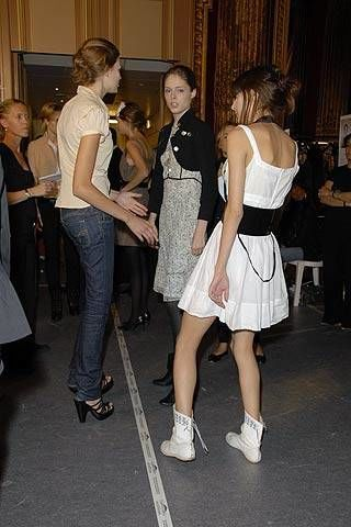 Balmain Spring 2007 Ready-to-wear Backstage 0002