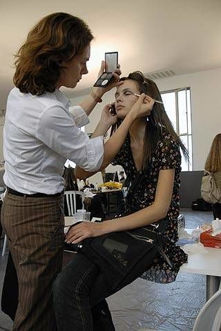 Issey Miyake by Naoki Takizawa Spring 2007 Ready-to-wear Backstage 0003