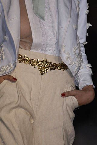 Roberto Cavalli Spring 2007 Ready-to-wear Detail 0002