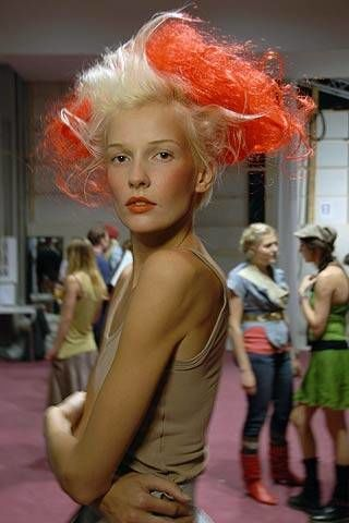 Vivienne Westwood Spring 2007 Ready-to-wear Backstage 0003