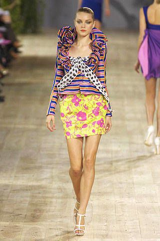 Emanuel Ungaro Spring 2007 Ready-to-wear Collections 0003