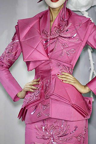 Christian Dior Spring 2007 Haute Couture Detail &#45&#x3B; 002