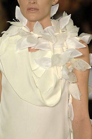 Maurizio Galante Spring 2007 Haute Couture Detail - 003