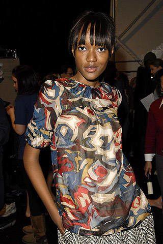 Lela Rose Fall 2007 Ready&#45&#x3B;to&#45&#x3B;wear Backstage &#45&#x3B; 002