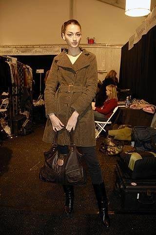Carolina Herrera Fall 2007 Ready-to-wear Backstage - 002