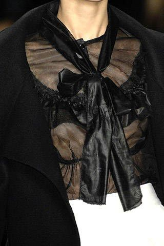 Carolina Herrera Fall 2007 Ready-to-wear Detail - 003