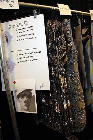 Matthew Williamson Fall 2007 Ready-to-wear Backstage - 002