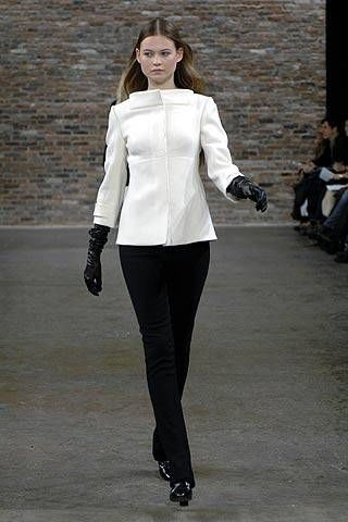 Narciso Rodriguez Fall 2007 Ready-to-wear Collections - 003