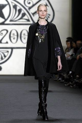 Anna Sui Fall 2007 Ready-to-wear Collections - 002