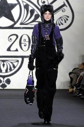 Anna Sui Fall 2007 Ready-to-wear Collections - 003