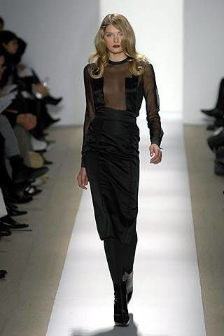 J. Mendel Fall 2007 Ready-to-wear Collections - 002