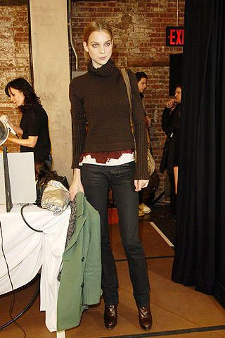 Narciso Rodriguez Fall 2007 Ready-to-wear Backstage - 003