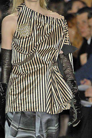 Vera Wang Fall 2007 Ready-to-wear Detail - 003