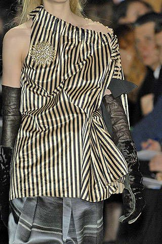 Vera Wang Fall 2007 Ready-to-wear Detail - 003
