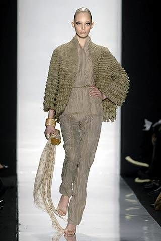 Chado Ralph Rucci Fall 2007 Ready-to-wear Collections - 002