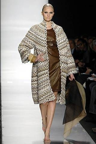 Chado Ralph Rucci Fall 2007 Ready-to-wear Collections - 003
