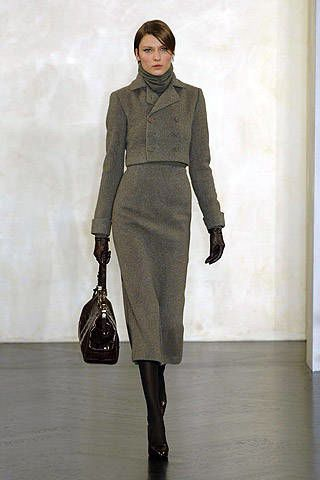 Ralph Lauren Fall 2007 Ready-to-wear Collections - 002