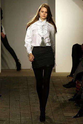 Richard Nicoll Fall 2007 Ready-to-wear Collections - 002