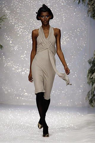 Ashley Isham Fall 2007 Ready-to-wear Collections - 002